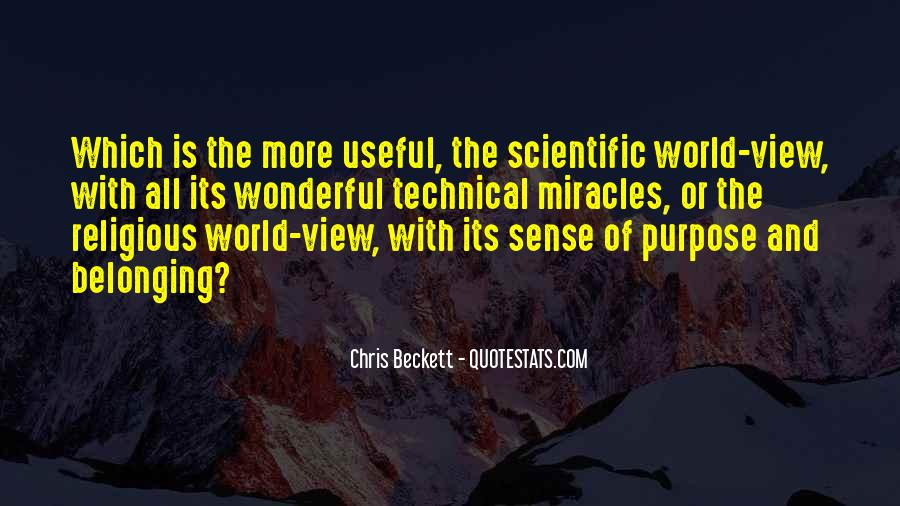 Quotes About Science And Miracles #218170