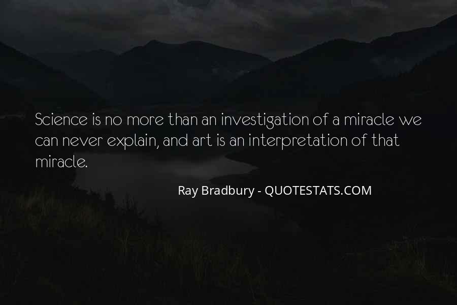 Quotes About Science And Miracles #356383