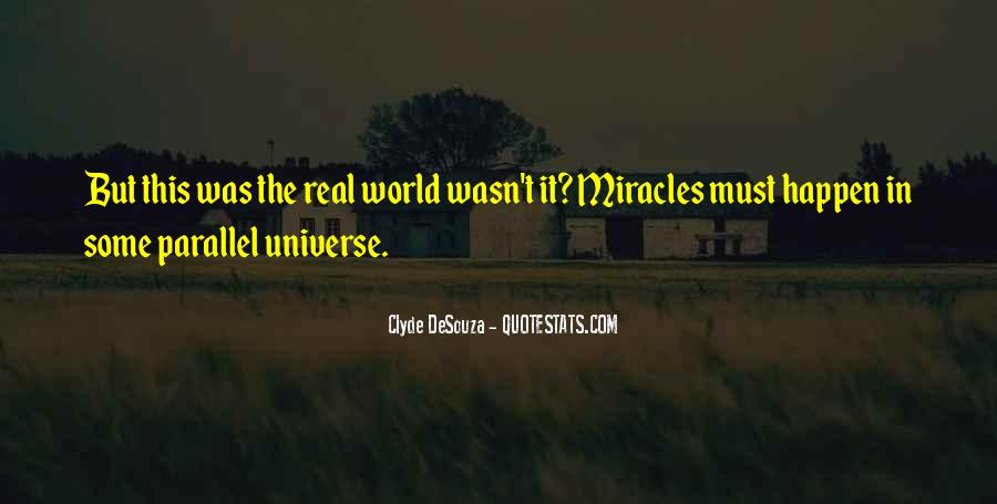 Quotes About Science And Miracles #435902