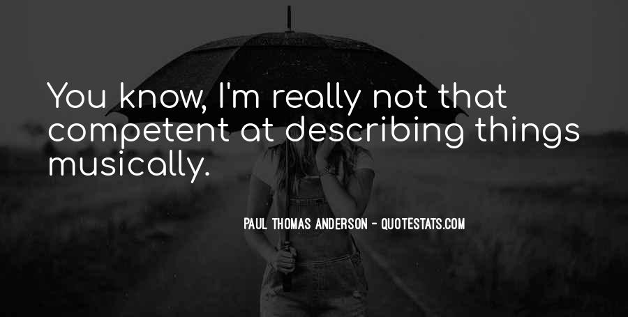 Quotes About Describing Things #1519609