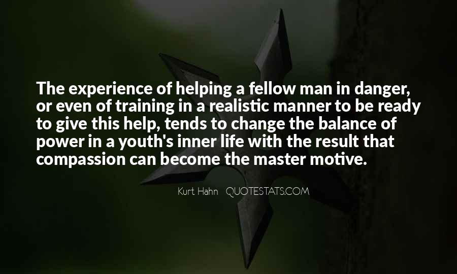 Quotes About Helping Our Youth #172341