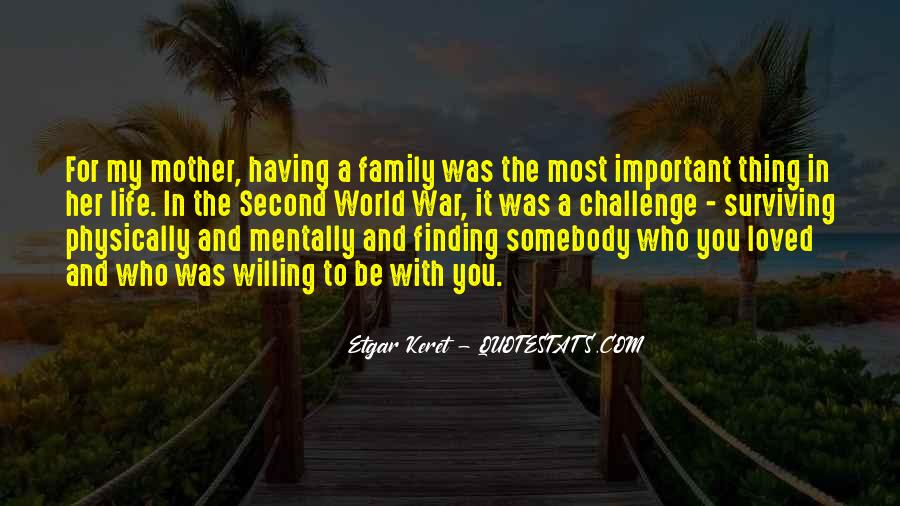 Quotes About My Second Family #1719427