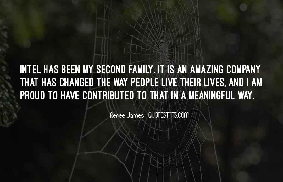 Quotes About My Second Family #436448