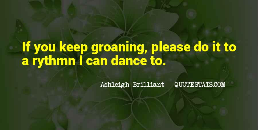 Quotes About Competition In Dance #863907