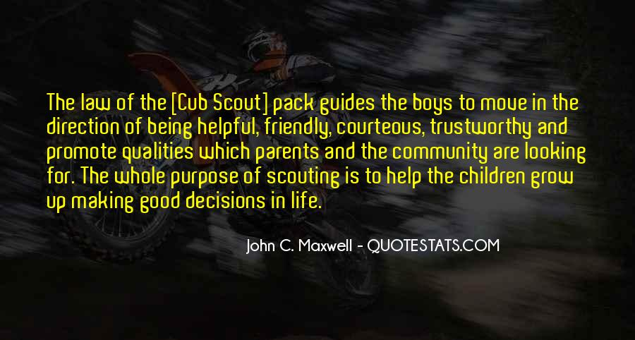 Quotes About Scout Growing Up #772659