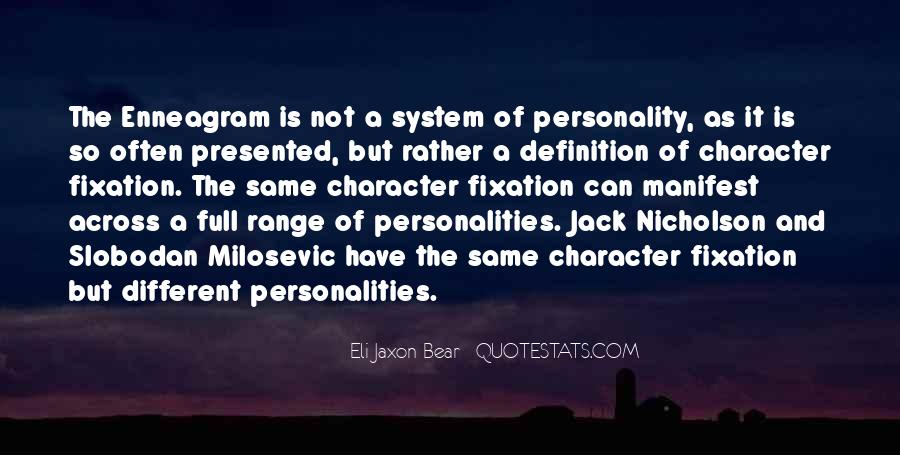 Quotes About Personality And Character #1008747