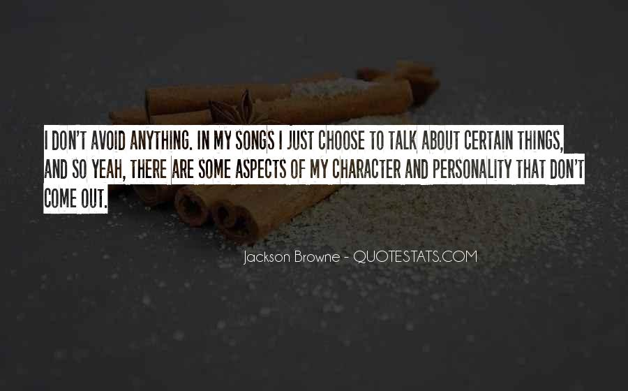 Quotes About Personality And Character #1048333