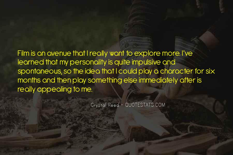 Quotes About Personality And Character #1101974