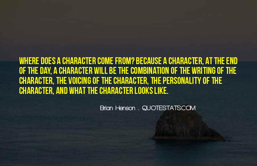 Quotes About Personality And Character #1167786