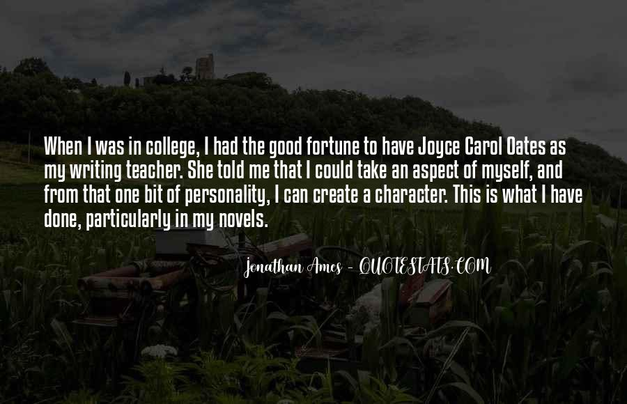 Quotes About Personality And Character #1171497