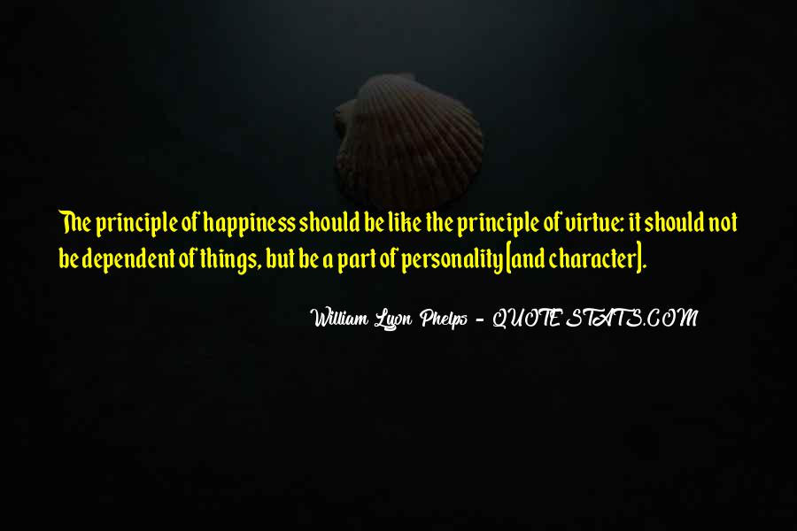 Quotes About Personality And Character #1203334