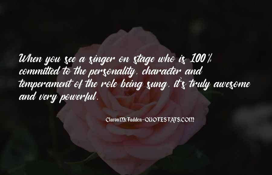 Quotes About Personality And Character #127925