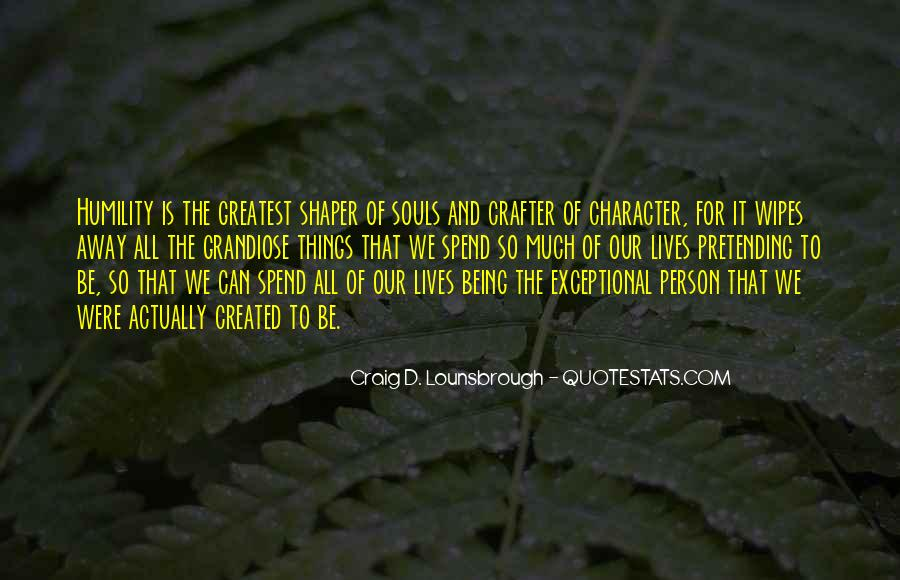 Quotes About Personality And Character #1359994