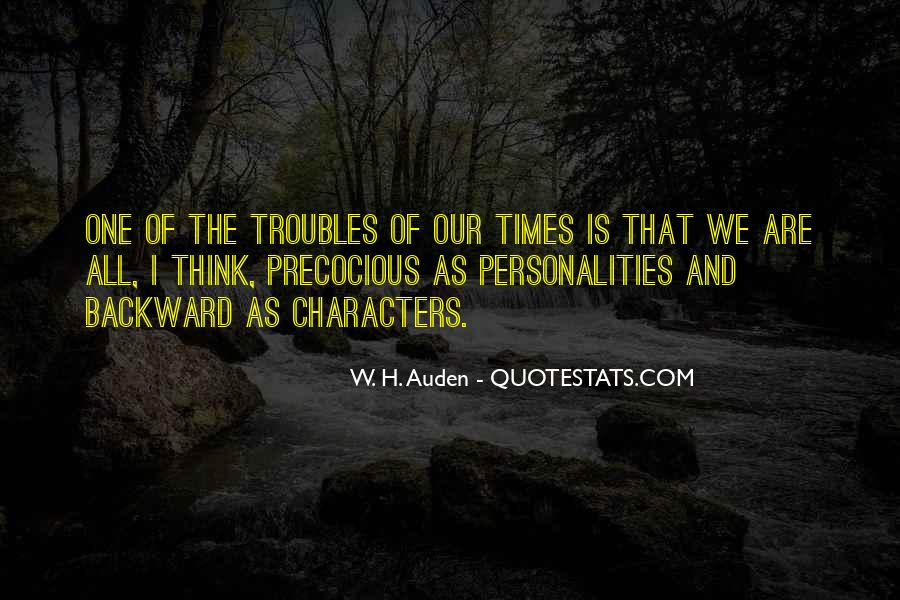 Quotes About Personality And Character #172724