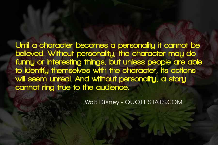 Quotes About Personality And Character #188470