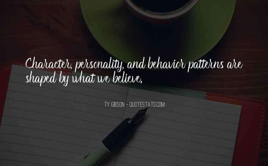 Quotes About Personality And Character #195047