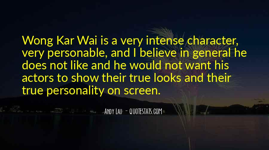 Quotes About Personality And Character #224786