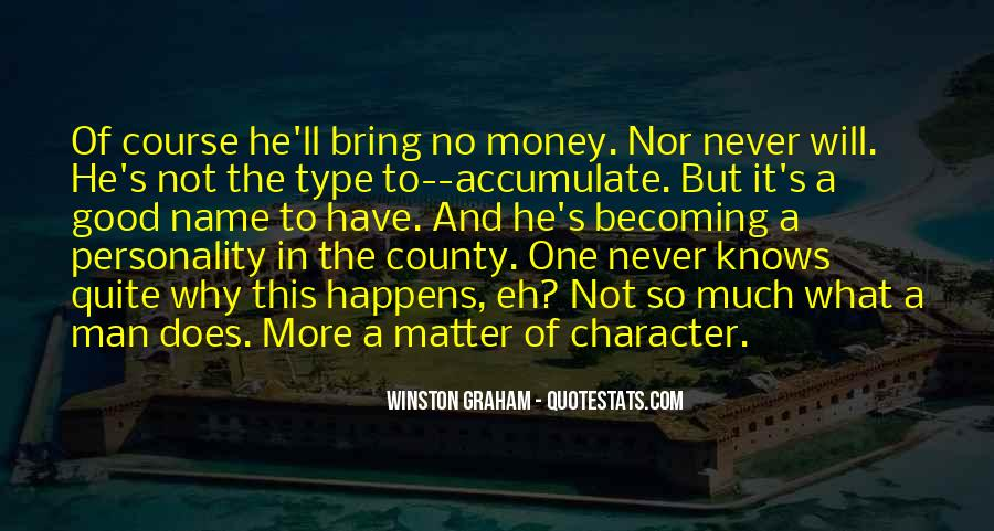 Quotes About Personality And Character #225706