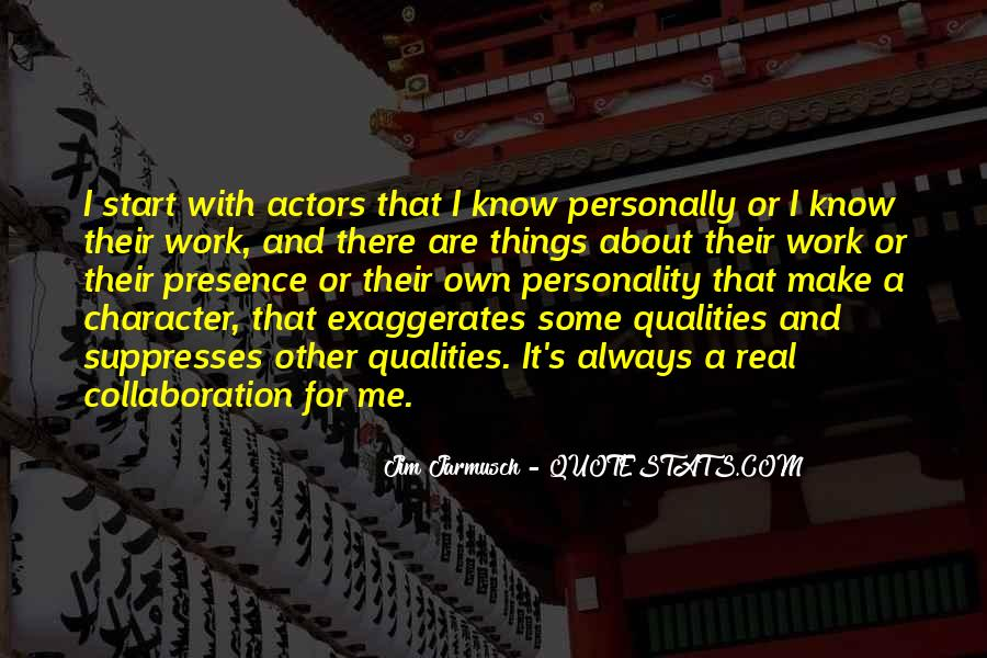 Quotes About Personality And Character #30744