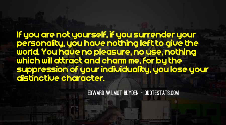 Quotes About Personality And Character #343480