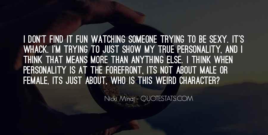 Quotes About Personality And Character #455713
