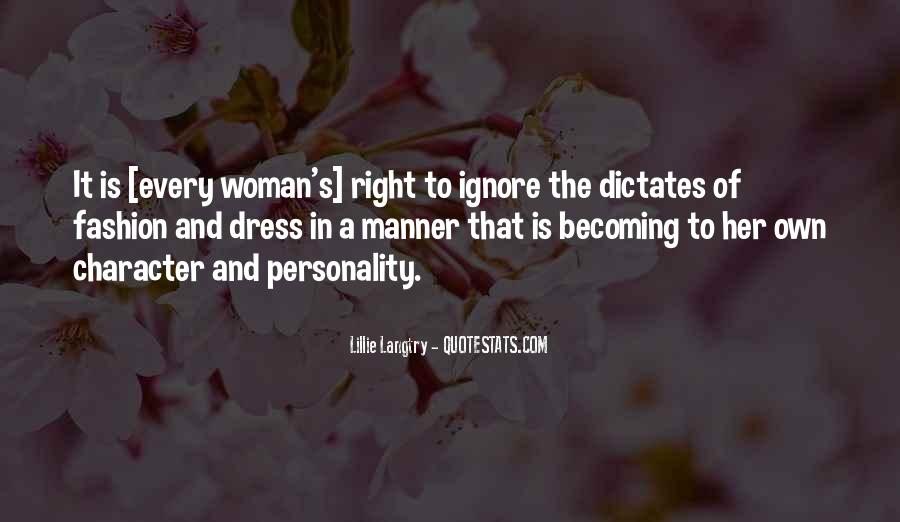 Quotes About Personality And Character #473387