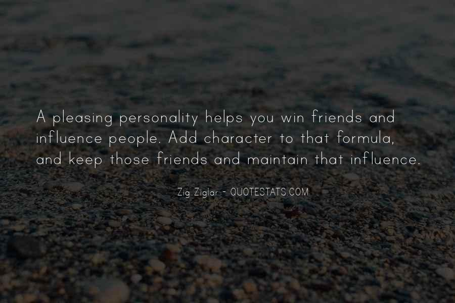 Quotes About Personality And Character #538643