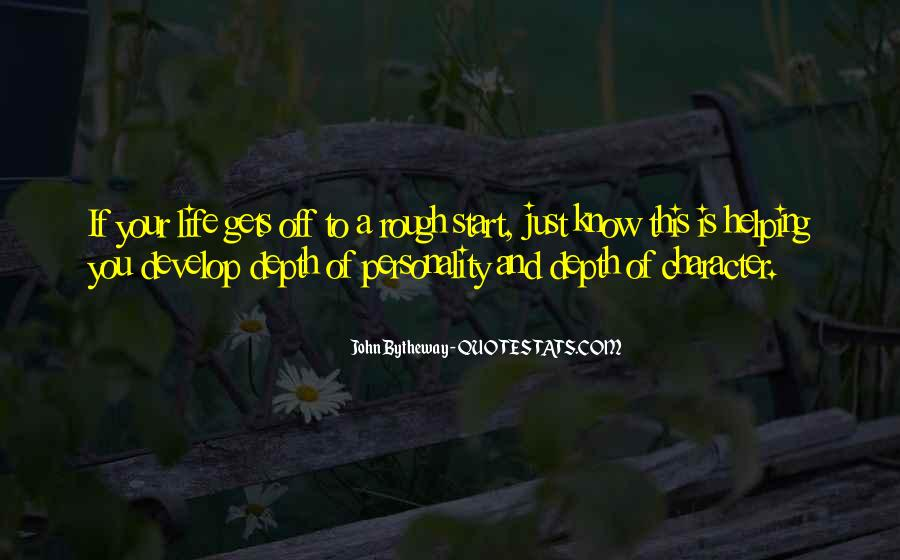 Quotes About Personality And Character #602514