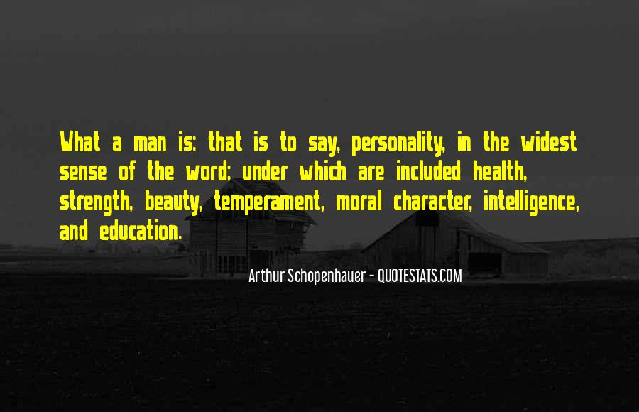 Quotes About Personality And Character #636618