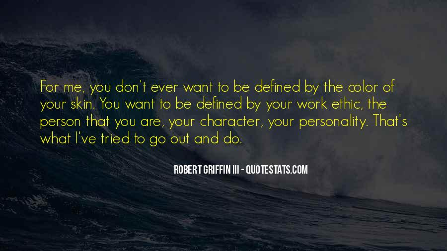 Quotes About Personality And Character #672774