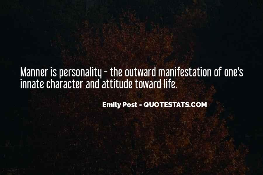 Quotes About Personality And Character #70145