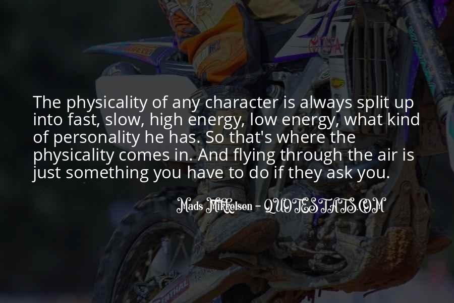 Quotes About Personality And Character #73517