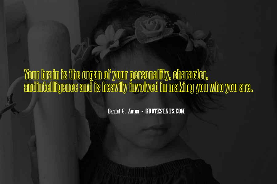 Quotes About Personality And Character #736974