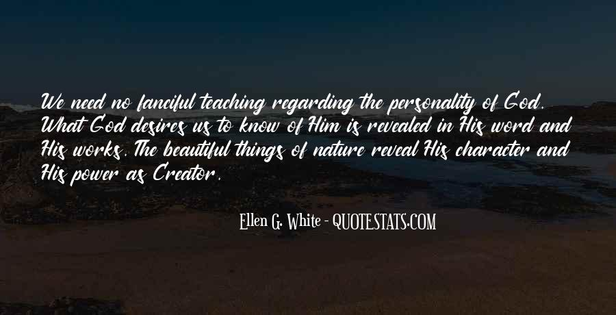 Quotes About Personality And Character #75107
