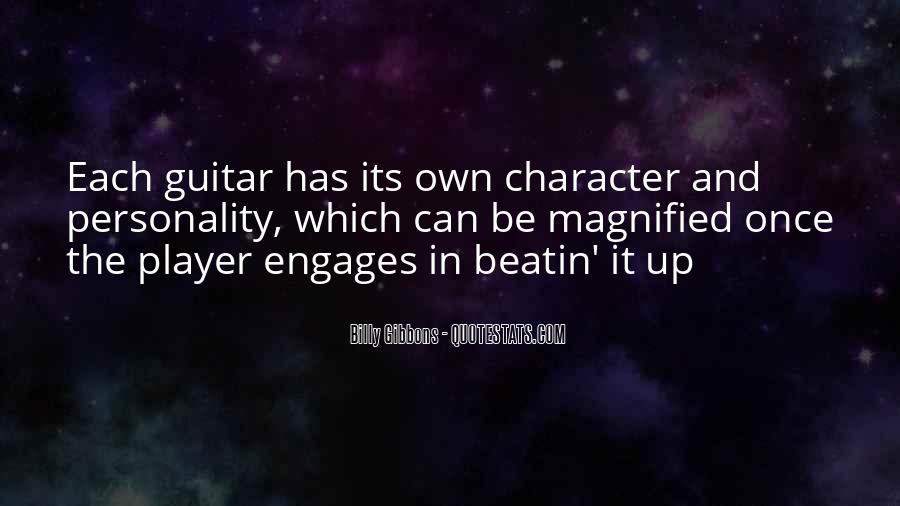 Quotes About Personality And Character #76665