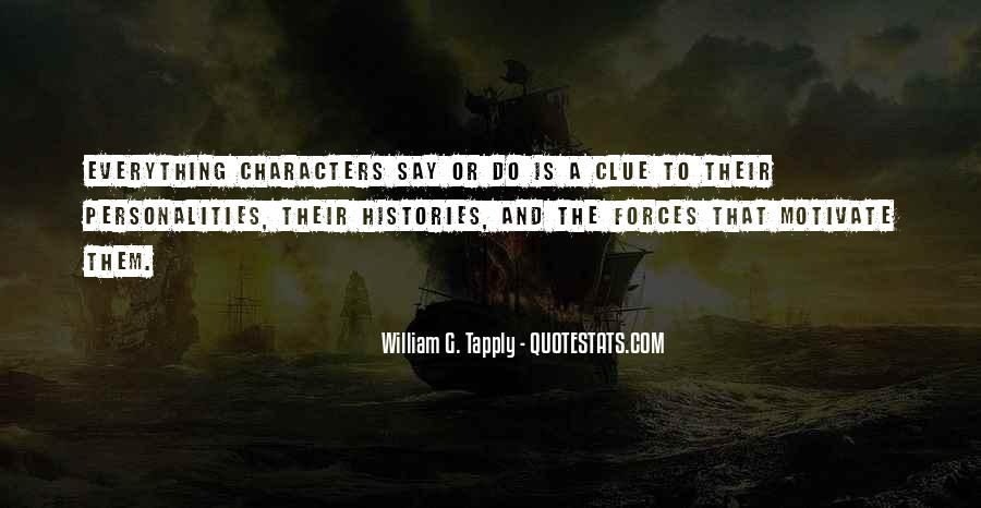 Quotes About Personality And Character #775027