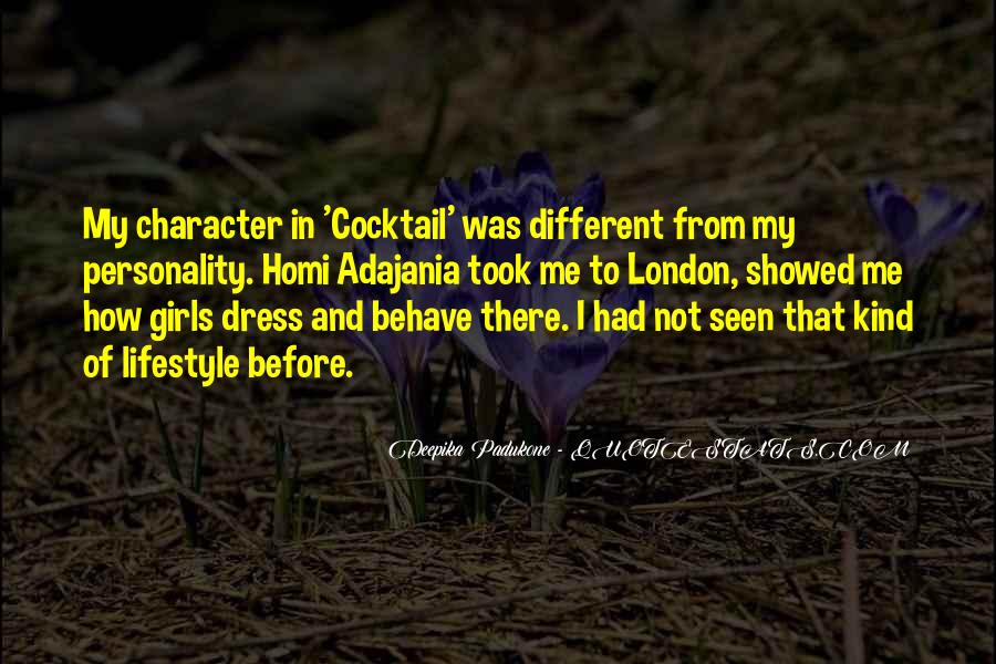 Quotes About Personality And Character #81806