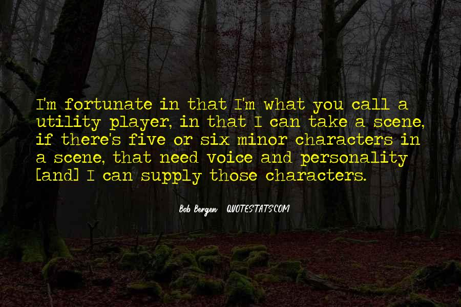 Quotes About Personality And Character #898322