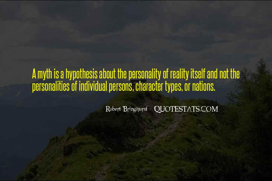 Quotes About Personality And Character #938614