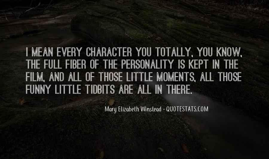 Quotes About Personality And Character #942935