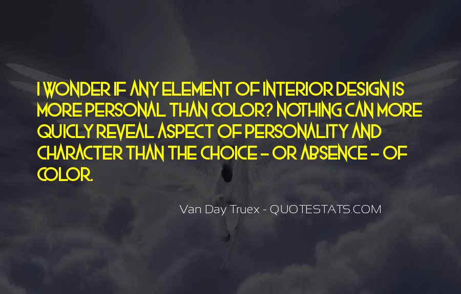 Quotes About Personality And Character #973602