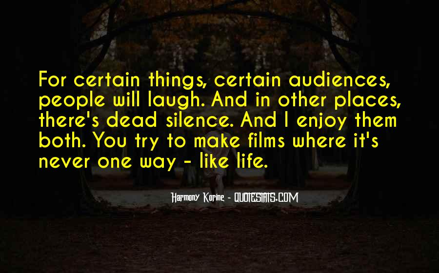 Quotes About Laughing And Life #251789