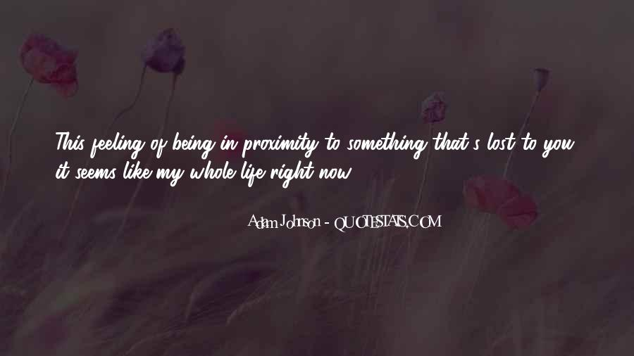 Quotes About Being Lost #140871