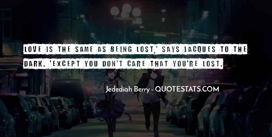 Quotes About Being Lost #141309