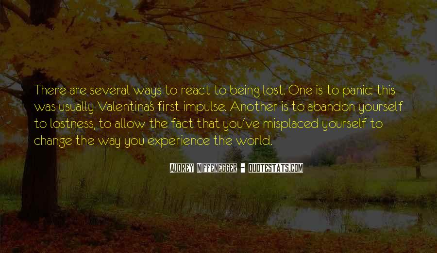 Quotes About Being Lost #201448