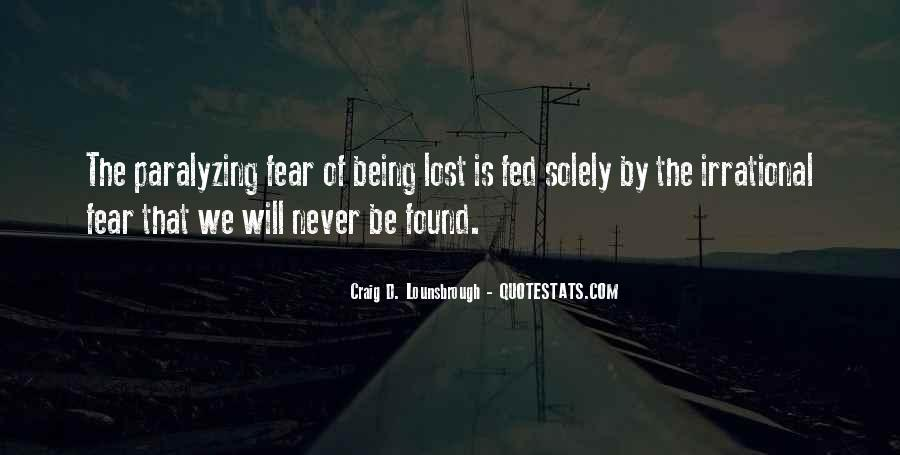 Quotes About Being Lost #284921
