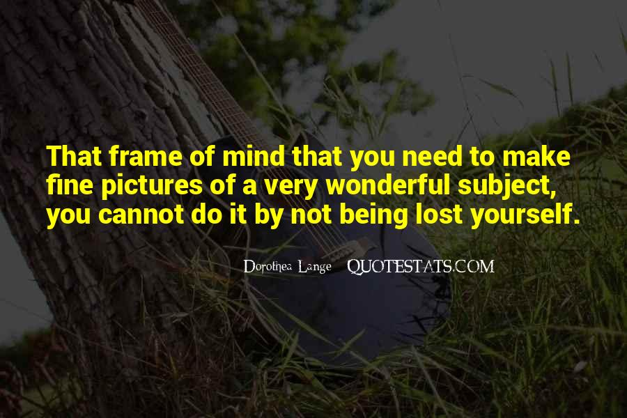 Quotes About Being Lost #285824