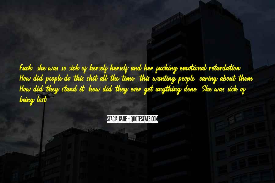 Quotes About Being Lost #88756