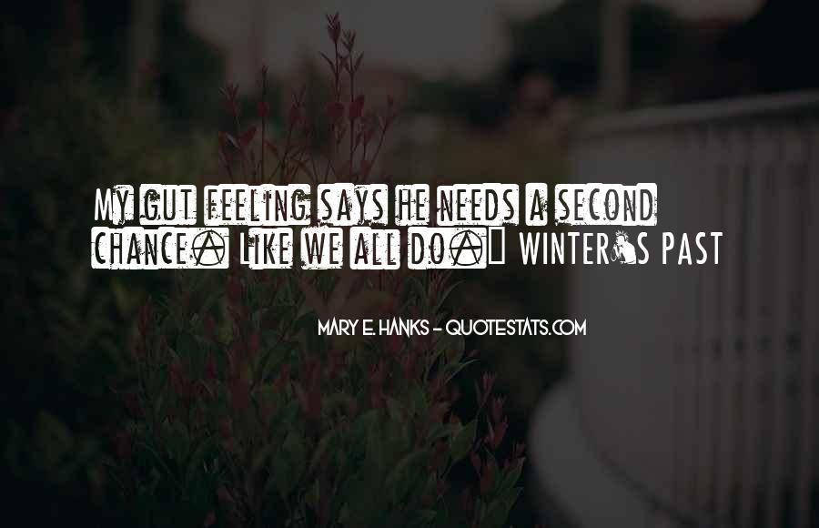 Quotes About No Second Chances In Love #1876401