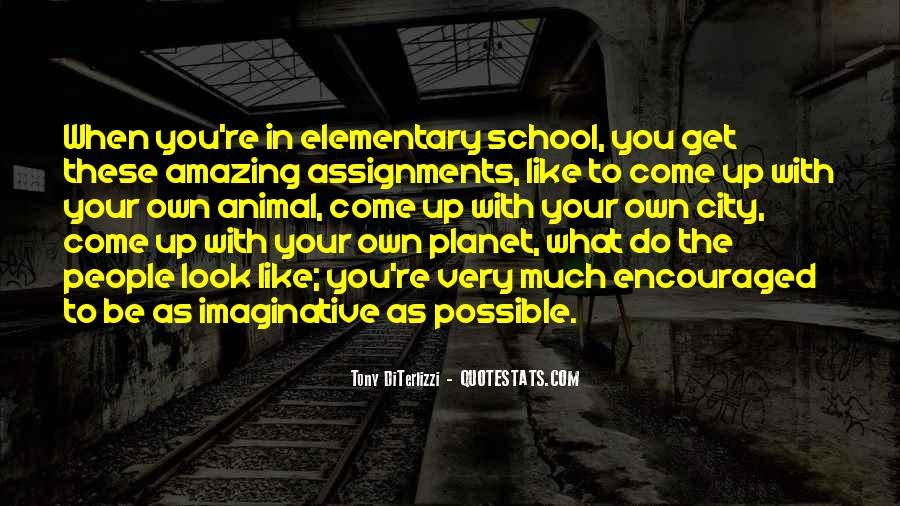 Quotes About School Assignments #1236462